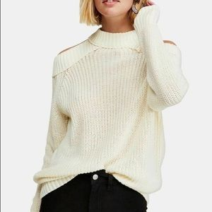 Free People Half Moon Bay Pullover Sweater | NWT